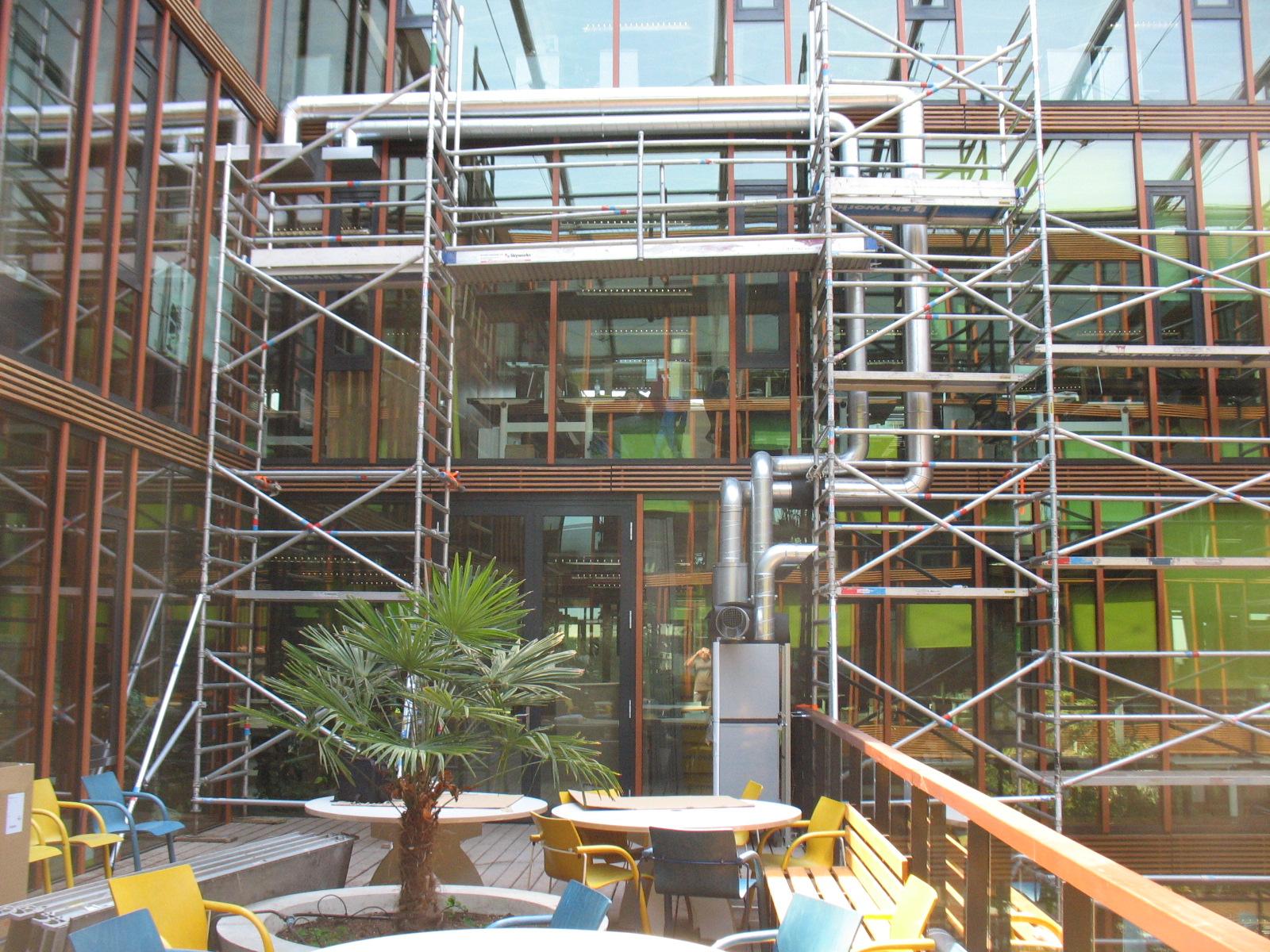 Verbeteren klimaat WUR Radix gebouw 05